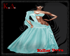 KD* Diva Gown Blue