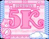 5k Support Sticker!