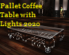Pallet Coffee Table 2020