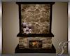 (F) Cabin Fireplace
