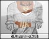 |C| White Sweater
