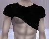Black Shirt Pulled Up!