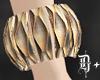 D+. Gold Bracelet
