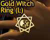 Gold Witch Ring (left)