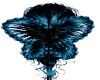 Blue/Black Butterfly
