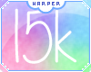 H| 15k Support Sticker