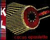 circus military epaulett