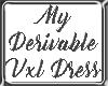 My Derivable VXL Dress