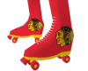 NHL Blackhawks Skates M