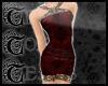 TTT Brocade Silk ~ Rouge