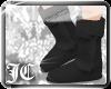 JC™ {UGGs} Black Fur