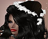 Cute Blk Wht Holiday Hat