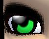Green Anime Style Eyes