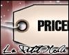 <3 Priceless Tag