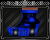 {A} Vampiro Blue Boots