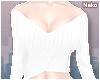 ♪ off-shoulder - white