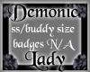 DarkRose Demonic Lady