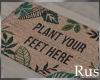 Rus Leaf Door Mat 2