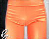 Orange Plastic Pants