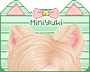 -M- Panther Ears Blond
