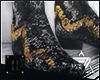 // black rose.boots
