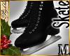 I~Black Ice Skates*M