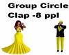 Group Circle Clap 8 ppl