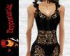 Floretta Dress Top BLACK