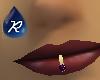 {R} Amethyst lip ring