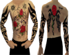 Chest Back & Arm Tattoos