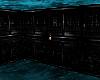 Black n Teal cube room