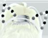 White &B.FashionCat Ears