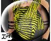 [LA] Yellow StripeCorset