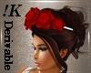!K! Rose Headband  Mesh