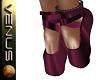 ~V~Ballet Shoes Burgundy