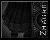 """[Z] """"Elric"""" Cloak black"""