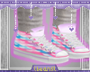 lBl Rainbow Heart Shoes