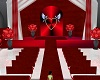 Red wedding Room
