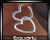 Silver Heart Earings