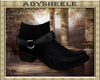 AS* Exotic Black Boots