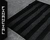ϟ Black Grey Rug