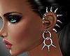 Punk earrings
