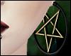 \/ Gold Pentagrams II