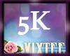VIX'S 5K SUPPORT STICKER