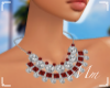 -Mm- kylie necklace red