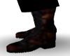 Brown Grey Boot