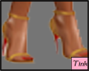 pez gold shoes