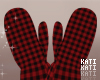 Christmas Plaid Mittens