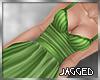 Arya dress lime