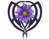 Tribal Daisy - Purple